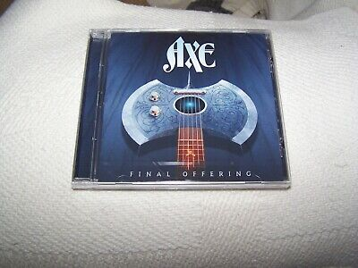 Axe - Final Offering CD 2019 Classic US Melodic Rock Bobby Barth