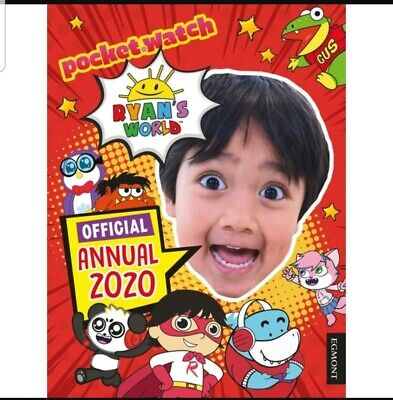 Ryans Toy Review Net Worth 2020.Ryan S World Annual 2020 New Release Uk Ryans Toy Review