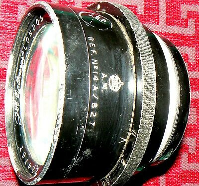 CAMERA LENS AIRCRAFT RECONNAISANCE R.A.F. WW II 1940 onwards GOOD CONDITION.