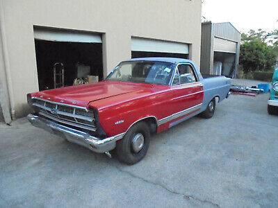1967 Ford Ranchero Ute Project 2 Owner Factory Red Lots Of Money Spent V8 Auto