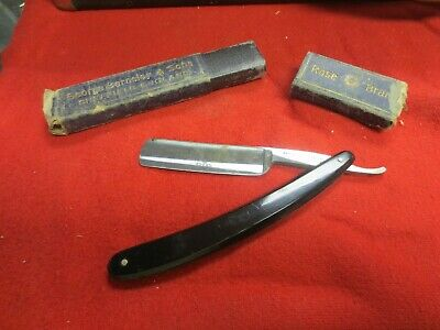 Rare Vintage George Barnsley & Sons Rose Brand Sheffield Straight Razor