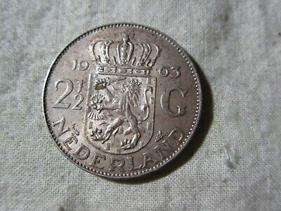 Netherlands   1963     2.5G    Coin  Silver