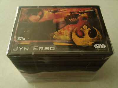 Star Wars Rough Complete 212 Master Set In Clear Binder - TOPPS - NO LIMITED