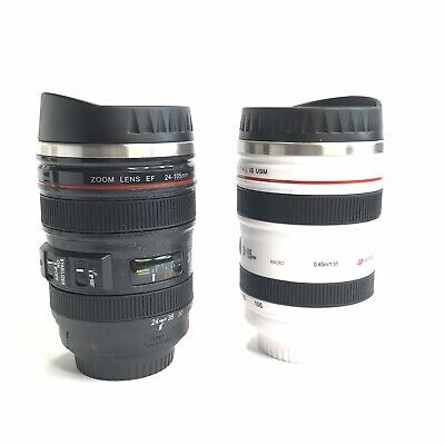 Camera Lens Coffee Mug Stainless Steel Insulated Tumbler Cup For Couples