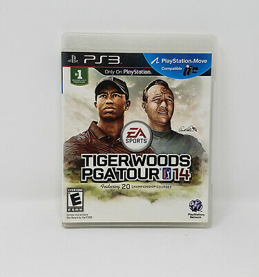 Tiger Woods PGA Tour 14 (Sony PlayStation 3, 2013) COMPLETE *FREE FAST SHIPPING*