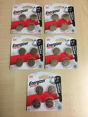 energizer cr2032 5 x 4 Packs