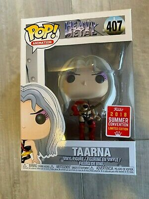 Funko Pop! Animation Heavy Metal #407 Taarna 2018 SDCC Shared Limited Edition