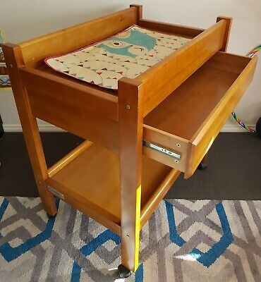 Baby Change Table (Solid Wood) - Tasman Eco brand