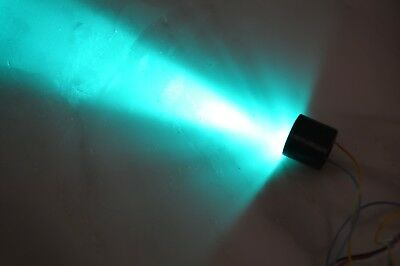 Custom DIY cyan  lightsaber kit with sabercore sound board and chassis