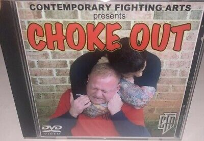 Sammy Franco Presents CHOKE OUT- Contemporary Fighting Arts DVD Excellent Cond.