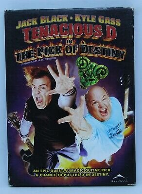 Temacious D in The Pick of Destiny - DVD with slipcover - Jack Black