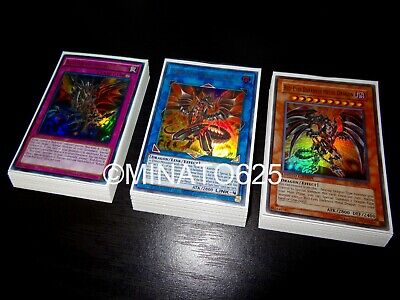 Yugioh Complete Red-Eyes Black Dragon Deck! Darkness Metal Guardragon Elpy Steel