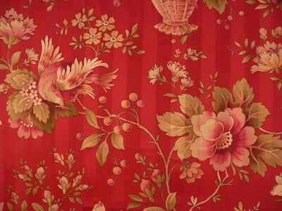 """Snow Drapery Upholstery Fabric Tone on Tone Floral Damask 114/"""" W"""
