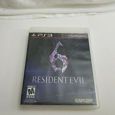 Resident Evil 6 for Sony PlayStation 3 PS3