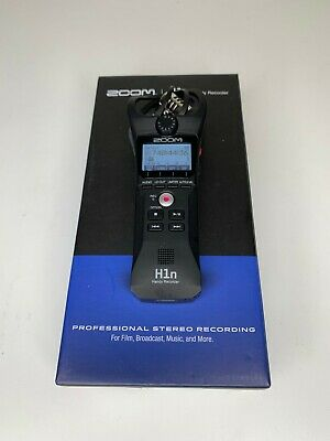 Zoom H1n Handy Pro Stereo Digital Voice Recorder MP3