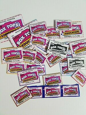 Box Tops For Education. Neatly Trimmed. None Expired. BTFE.