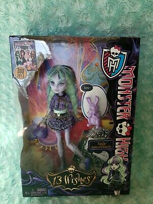 Monster High 13 Wishes Twyla NEW IN BOX