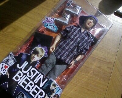 2010 Justin Bieber Doll - JB Collection Bravado - In unopened original packaging