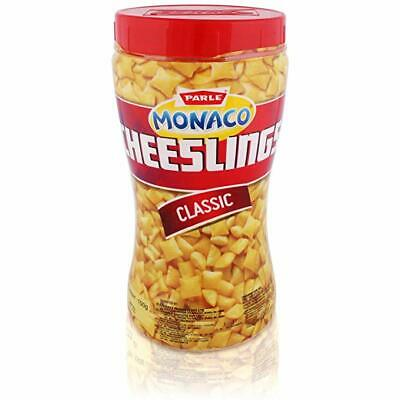 Parle Monaco Cheeselings,Classic,150g,A classic savoury snack made with cheese
