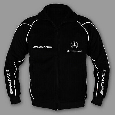 MERCEDES Jacket Sweatshirt Coat Pullover with EMBROIDERED MADE in EUROPE XS-6XL