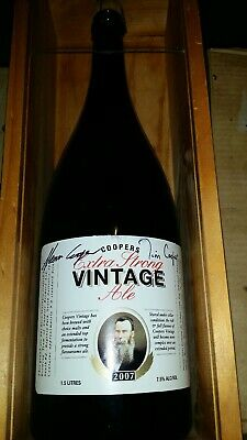 Coopers Signature 2007 Vintage Ale Magnum Signed by Glenn and Tim Cooper