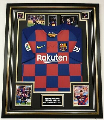 ** Rare LIONEL MESSI of Barcelona Signed Shirt Autographed Jersey ***