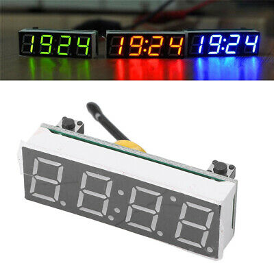 Red 3in1 LED DS3231SN Digital Clock Temperature Voltage Module DIY Electronic #1
