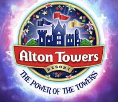 Alton Towers  E-Tickets Sat 21/9/19