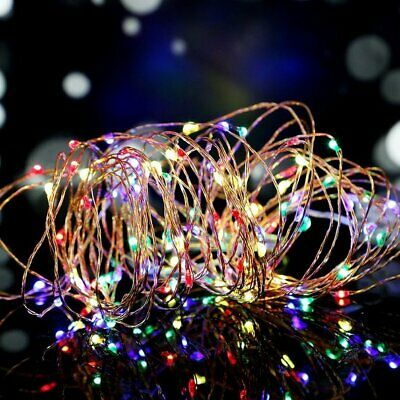 10M Battery Powered 100LED Valentine Party Wedding Fairy String Light Mix-color