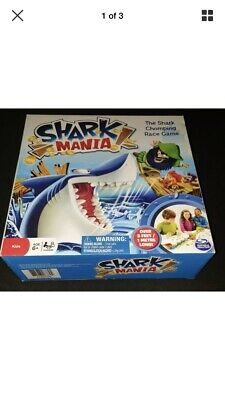 Shark Mania Board Game Brand New