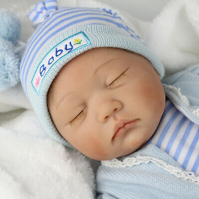 "SALE! Realistic Reborn Baby Dolls Newborn Boy 22"" Lifelike Soft Vinyl Body Dolls"