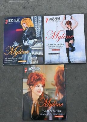 Mylene Farmer Tele 7 Jours 1Hors-Serie Collector Il Y A 3Editions Differentes