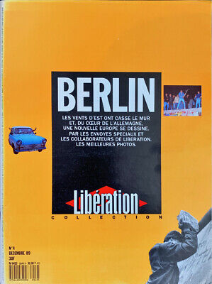 Journal LIBERATION COLLECTION n°4 BERLIN, décembre 1989 - TBE