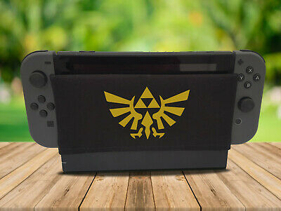 Zelda TriForce - Nintendo Switch Dock Sock Cover Geeky Gaming Screen Handmade
