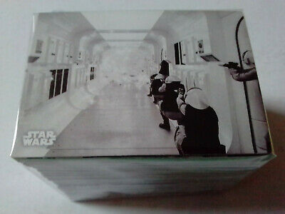 Star Wars A New Hope Complete 140 Black and White Trading Card Set Topps  2018