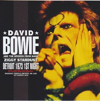 David Bowie / Detroit 1973 - 1st Night / 1CD / Japanese Only