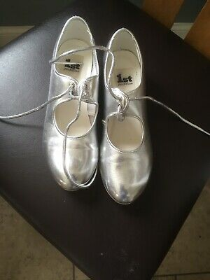 Dance Shoes Girls Tap Shoes Size Size 4 1St Position Girls/Ladies Tap Shoes