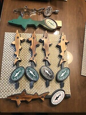 Lot Of 7 Dogfish Head Tap Handles - 60 Min , 120, Tuxedo, Occasional