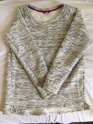 Joules Grey Ribbed Jumper