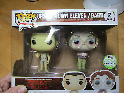 Funko POP Vinyl Upside Down Eleven & Barb 2 pack - Stranger Things Funko 2017