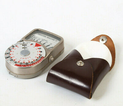 WESTON MASTER V light meter with invercone (REF8HG)