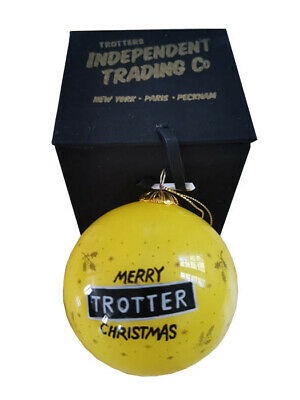Only Fools and Horses Christmas Bauble Decoration GREAT GIFT IDEA YELLOW