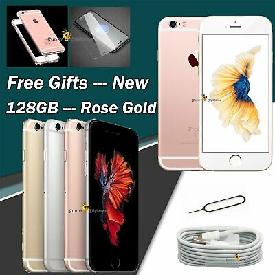New Unlocked Sim Free Smartphone Apple iPhone 6S Rose Gold Space Grey 128GB 64GB