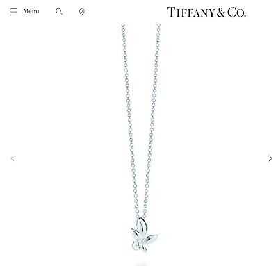 Tiffany&Co necklace olive leaf