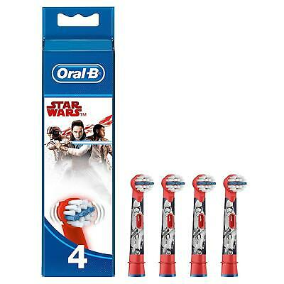Oral-B Genuine Kids Stages Star Wars Replacement Red Toothbrush Heads, Refills
