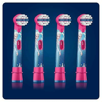 Oral-B Genuine Kids Stages Disney Frozen Replacement Pink Toothbrush Heads, For