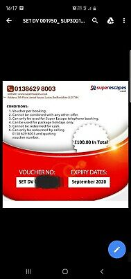 £100 Voucher for travel with SUPER ESCAPES . CO . UK