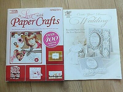 2 Beautiful DISCONTINUED Card Making/Paper Craft Books ... Both Included