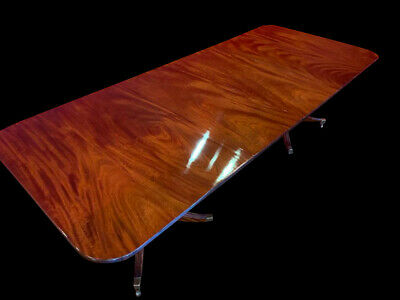 Amazing George Iii Style Cuban Mahogany Table Professionally French Polished