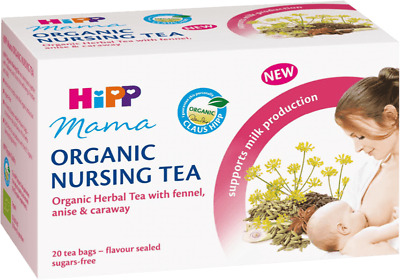 HIPP Mama 100% Organic NURSING TEA Fennel Anise&Caraway Supports Milk Production